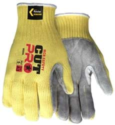 Picture of Glove Kevlar Knit w/ Palm Leather – L