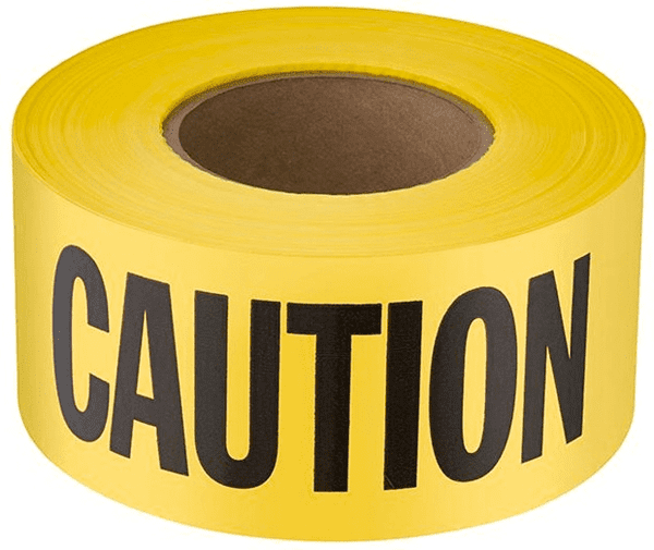 Picture of Barricade Tape Caution – 300'x3""