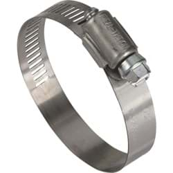 "Picture of Ideal 57 Stainless Steel Hose Clamp With Zinc-Plated Screw - 1-1/2""-2-1/2"""