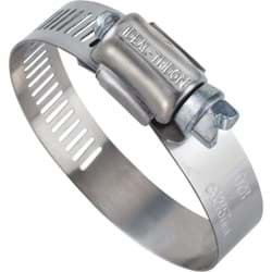 "Picture of Ideal 57 Stainless Steel Hose Clamp With Zinc-Plated Screw - 2""-3"""