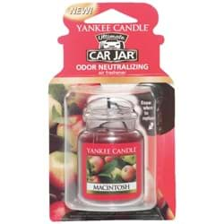 Picture of Yankee Candle Car Jar Ultimate Car Air Freshener - MacIntosh Scent