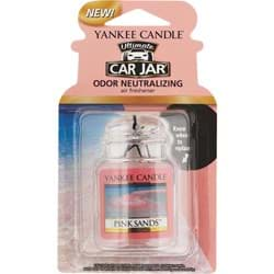 Picture of Yankee Candle Car Jar Ultimate Car Air Freshener - Pink Sands