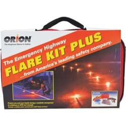 Picture of Orion 19-Piece Flare Kit Plus Emergency Road Kit