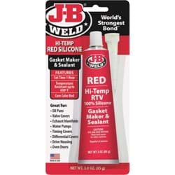 Picture of J-B Weld Red Hi-Temp RTV Silicone Gasket & Sealant