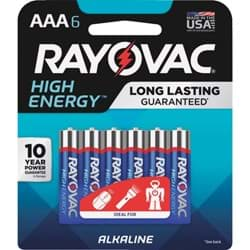 Picture of Rayovac High Energy AAA Alkaline Battery