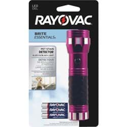Picture of Rayovac Brite Essentials Pet Stain Detector LED Flashlight