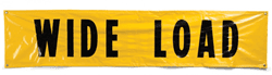 Picture of Banner – Wide Load