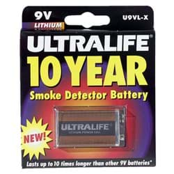 Picture of Ultralife 9V Lithium Battery