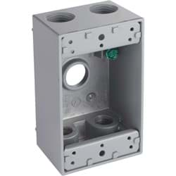 Picture of Bell 5-Outlet Weatherproof Outdoor Outlet Box