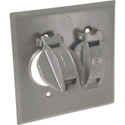 Picture of Hubbell Weatherproof Outdoor Outlet Cover