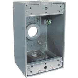 Picture of Bell Single-Gang Weatherproof Outdoor Outlet Box