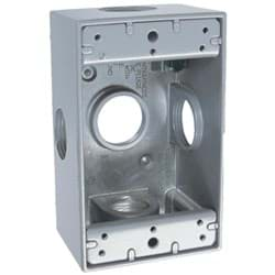 Picture of Bell Single Gang Weatherproof Outdoor Outlet Box