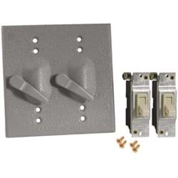 Picture of Bell Weatherproof Electrical Cover With Switches
