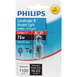 Picture of Philips T4 12V GY6.35 Halogen Special Purpose Light Bulb