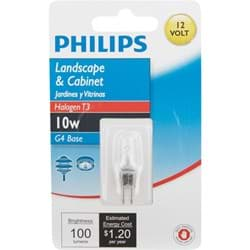 Picture of Philips T3 12V Halogen Special Purpose Light Bulb