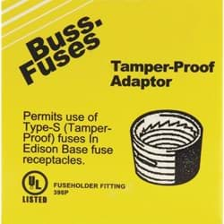 Picture of Bussmann Plug Fuse Adapter