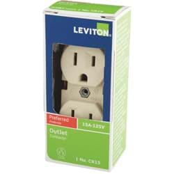 Picture of Leviton Commercial Grade Duplex Outlet