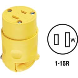Picture of Leviton Residential Grade Cord Connector