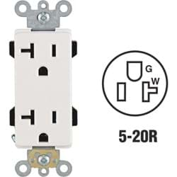 Picture of Leviton Decora Plus Duplex Outlet