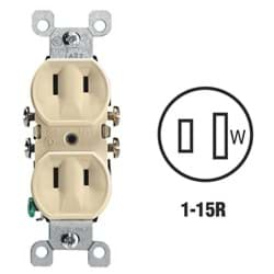Picture of Leviton Duplex Outlet