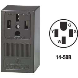 Picture of Leviton Grounding Range Power Outlet