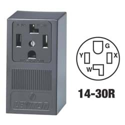 Picture of Leviton 4-Wire Dryer Power Outlet