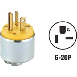 Picture of Leviton Armored Cord Plug