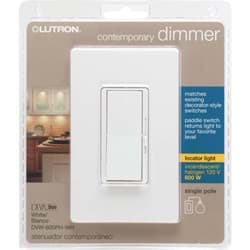 Picture of Lutron Diva Single-Pole Slide Dimmer Switch