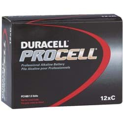 Picture of Duracell ProCell C Alkaline Battery