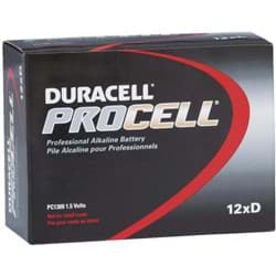 Picture of Duracell ProCell D Alkaline Battery