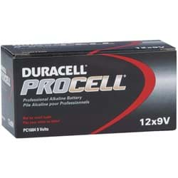 Picture of Duracell ProCell 9V Alkaline Battery