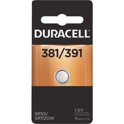 Picture of Duracell 381/391 Silver Oxide Button Cell Battery