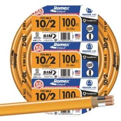 Picture of Romex 10-2 NMW/G Wire