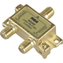 Picture of RCA Digital Plus 2-Way Coaxial Splitter