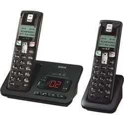 Picture of RCA DECT 6.0 Cordless Phone With 2 Handsets