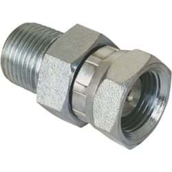 "Picture of Apache Male x Female Straight Hydraulic Hose Adapter - 1/2"" x 1/2"""
