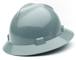 Picture of Hard Hat Full-Brim w/ Fas-Trac Suspension – Gray