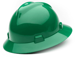Picture of Hard Hat Full-Brim w/ Fas-Trac Suspension – Green