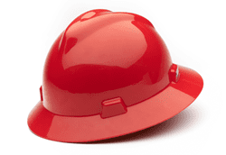 Picture of Hard Hat Full-Brim w/ Fas-Trac Suspension – Red