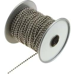 "Picture of Stainless Steel Lucky Line Ball Chain - 1/8"" - 100'"