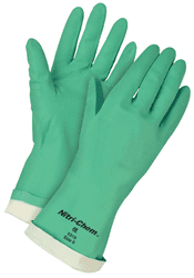 Picture of Glove Chemical Nitrile Green – XL