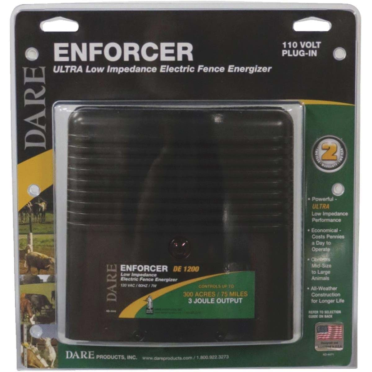 Ropesoapndope Dare Enforcer Electric Fence Charger