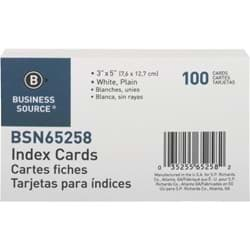 "Picture of Business Source Index Card - 3"" x 5"""