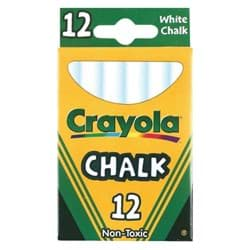 Picture of Crayola White Chalk