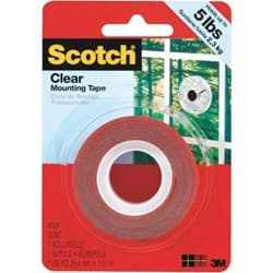 Picture of 3M Scotch Clear Double-Sided Mounting Tape