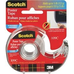 Picture of 3M Scotch Removable Double-Sided Poster Mounting Tape