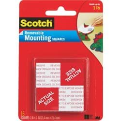 Picture of 3M Scotch Self-Adhesive Mounting Squares