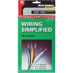 Picture of Electrical Wiring Simplified Pocket Reference Book