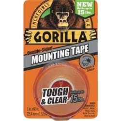 Picture of Gorilla Double-Sided Mounting Tape - Clear - 15lbs