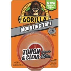 Picture of Gorilla Double-Sided Mounting Tape - Clear - 38lbs
